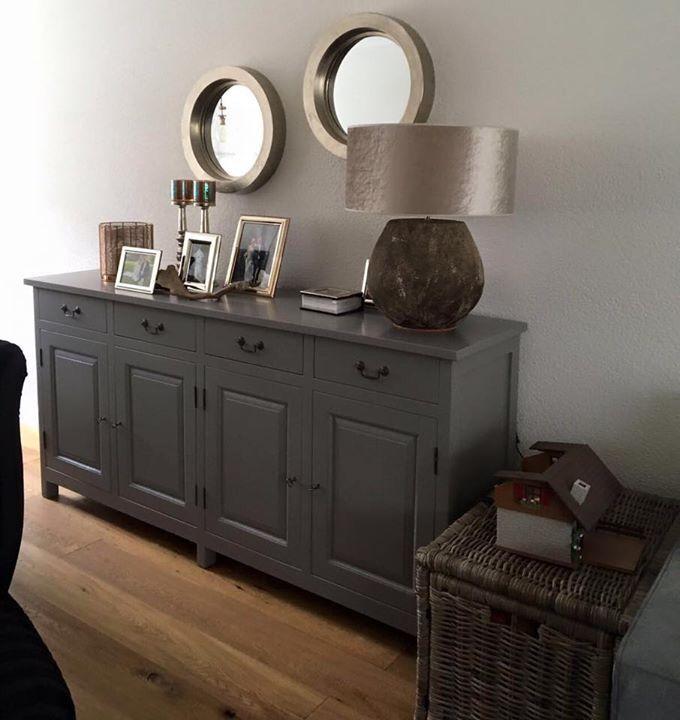 MaisonManon, Dit dressoir hebben we laten kleuren in een mooie matte verf van Painting the Past, deze kan weer jaren mee.