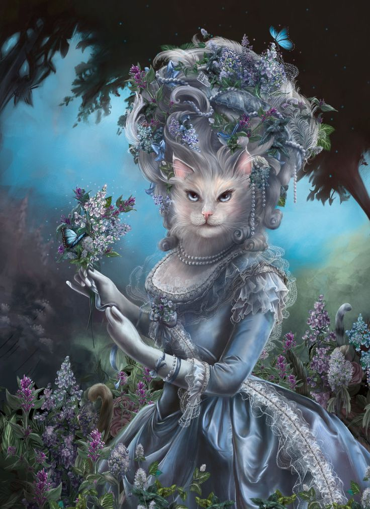 Imagine Cats As Historical People: Marie Antoinippe