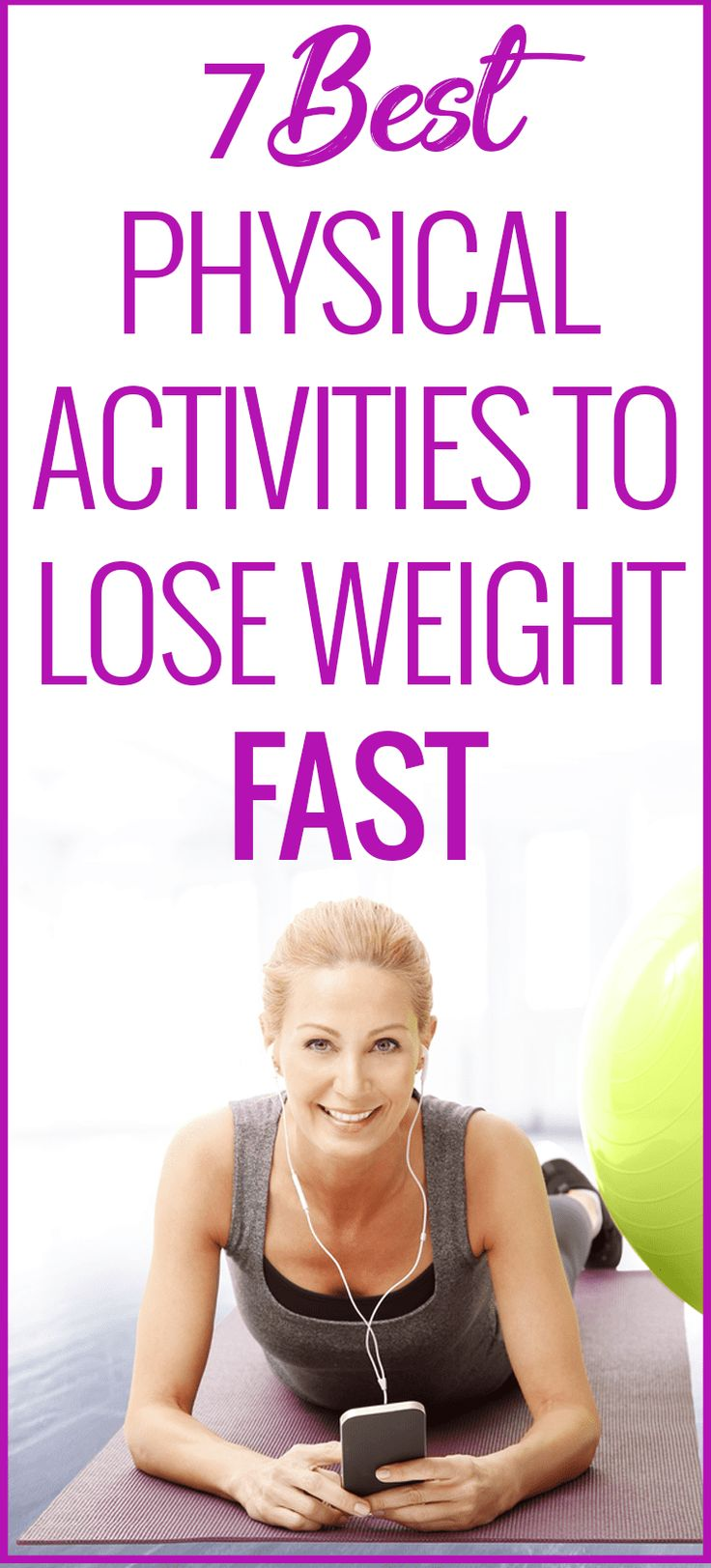 Physical activities to lose weight fast #fitness