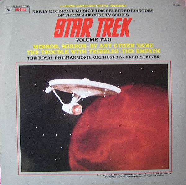 The Royal Philharmonic Orchestra And Fred Steiner - Star Trek - Volume Two (Music Adapted From Selected Episodes Of The Paramount TV Series): buy LP, Album at Discogs