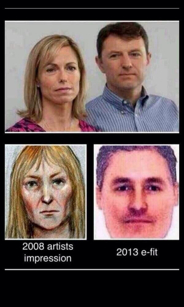 Do Tony and John Podesta Match Madeleine McCann Police