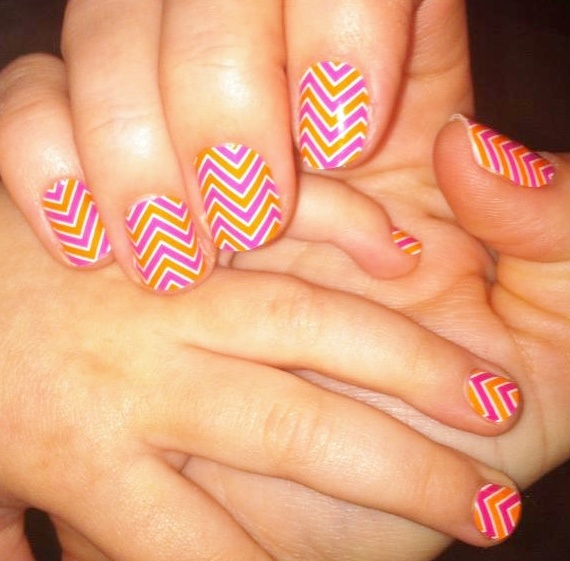 AnastasiaDesigns.JamberryNails.net  Mother daughter Cheveron ~ DIY Now even easier to apply, Non toxic salon perfect nails that won't chip, for a fraction of the price. Go to the web site to see the over 250 designs .......  AnastasiaDesigns.JamberryNails.net