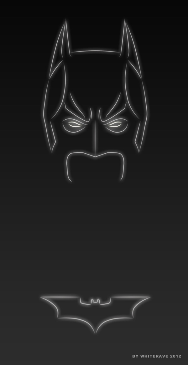 Batman (Light Superheroes) | By: Whiterave, via blog.thaeger.com