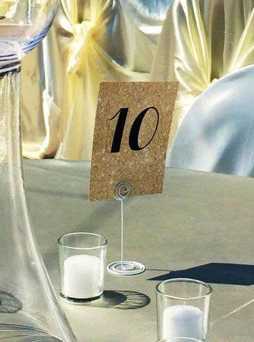 Paper Table Numbers - Glitter Table Numbers - Table Numbers - Wedding Table Numbers - Seating Plan  These cute table number are practical, sparkly,