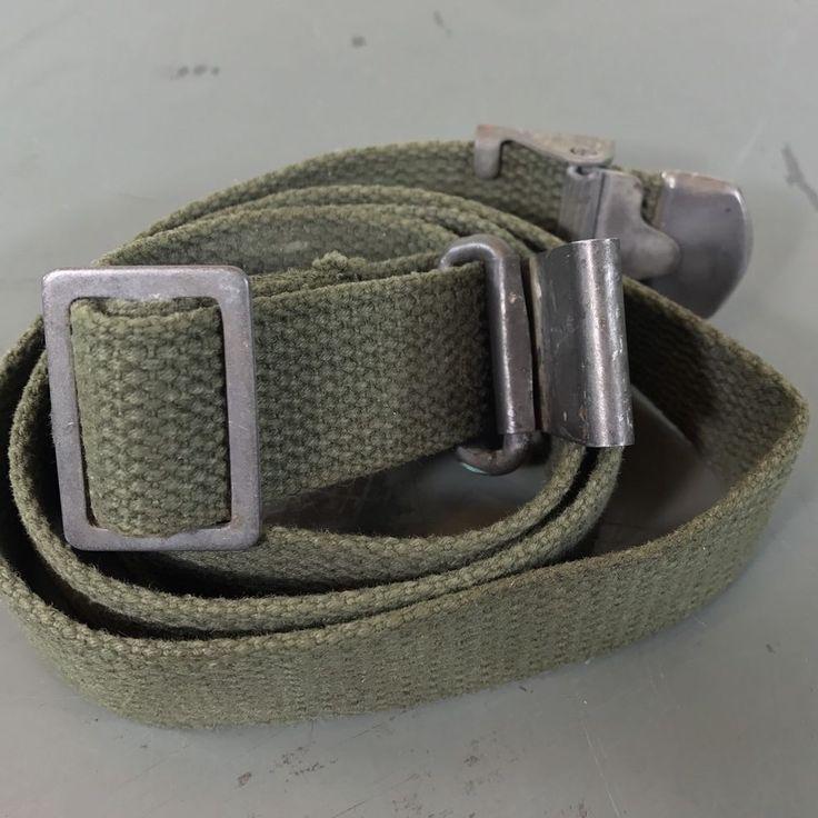 WW2 M1 Garand Sling, Web Canvas, Rifle Sling - Anchor Stamp - US Military  | eBay