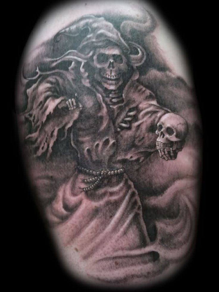 40 best grim reaper tattoos images on pinterest grim for Symbols of death tattoos