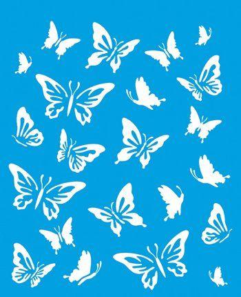 21cm x 17cm Pochoir Réutilisable en Plastique Transparent Souple Trace Gabarit Traçage Illustration Conception Murs Toile Tissu Meubles Décoration Aérographe Airbrush - Papillon Litoarte http://www.amazon.fr/dp/B00NS41ZSQ/ref=cm_sw_r_pi_dp_aUG3wb0A5GN67