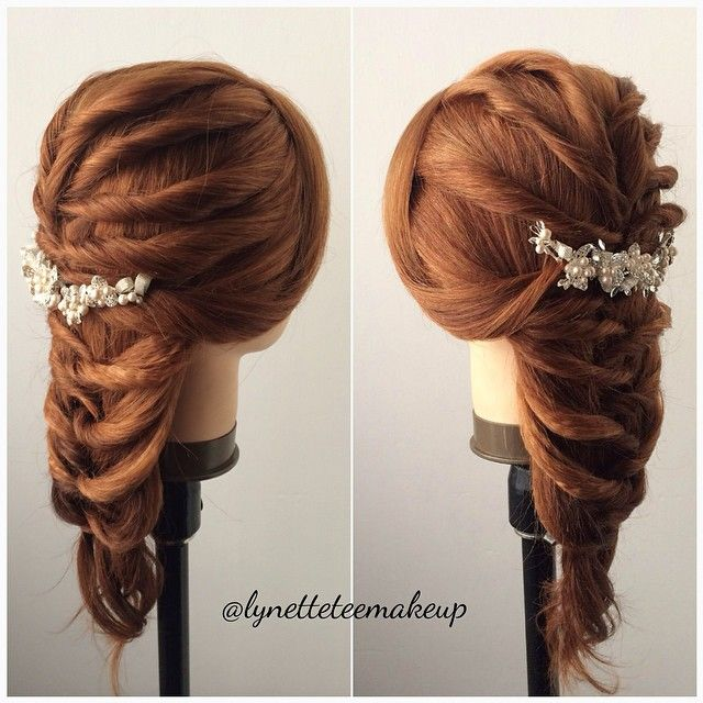 Wedding Hairstyle Names: 17 Best Images About Hair Styles, Updos, Braids On