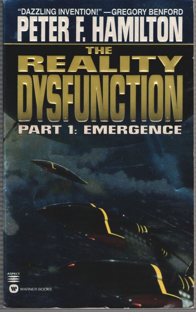 The Reality Dysfunction Pt. 1 : Emergence by Peter F. Hamilton (1997, Paperback,