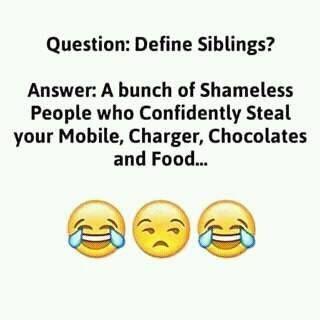 Define #Siblings