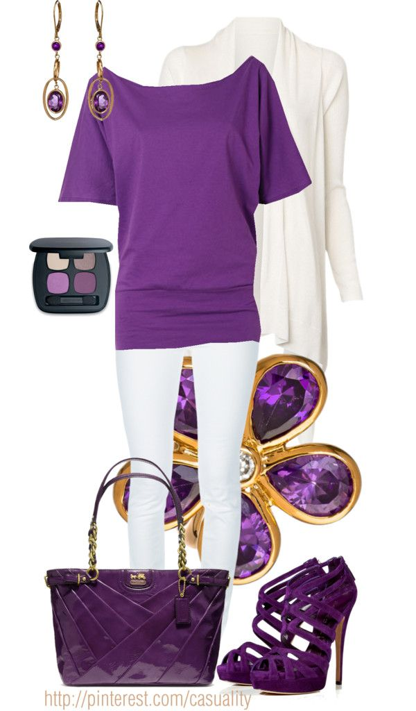 """Amethyst Inspired"" by casuality on Polyvore"