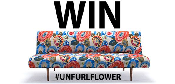 Win Unfurl covered in flowers
