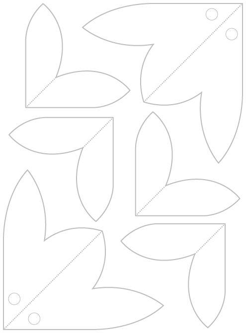 Make a Poinsettia Pop up Card (Robert Sabuda Method) (With