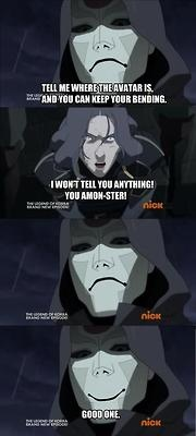Can't get enough of these Amon puns!