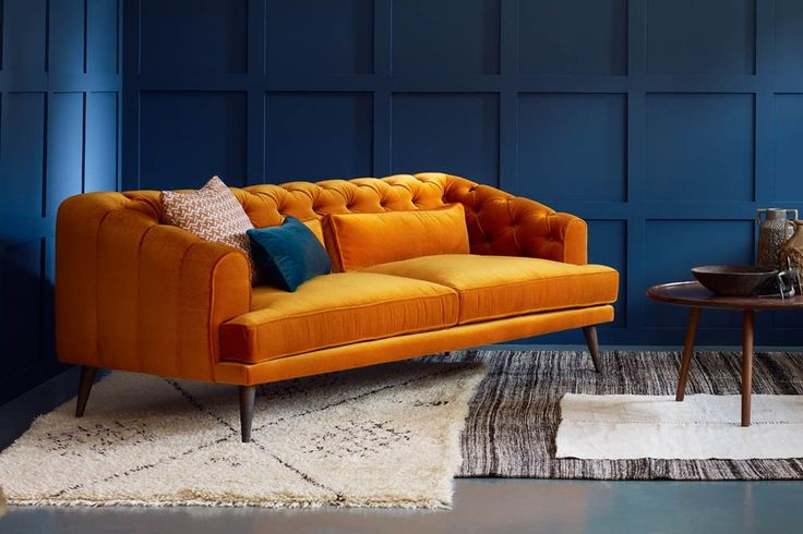 Buttoned Chesterfield Sofa, UK - Earl Grey