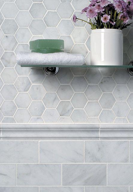 Shower inside tiles