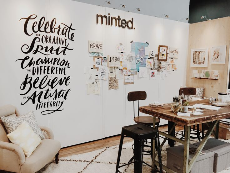Minted #CreativityIs National Stationery Show Booth Design