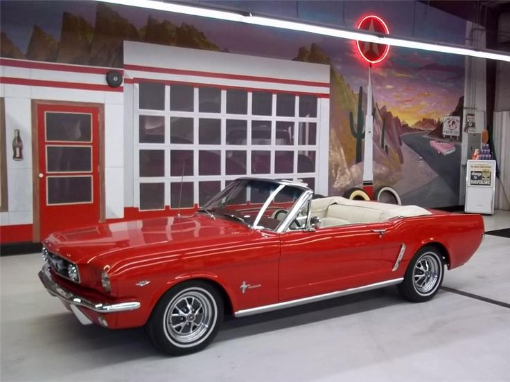 Sold* at Scottsdale 2012 - Lot #91.1 1965 FORD MUSTANG CONVERTIBLE