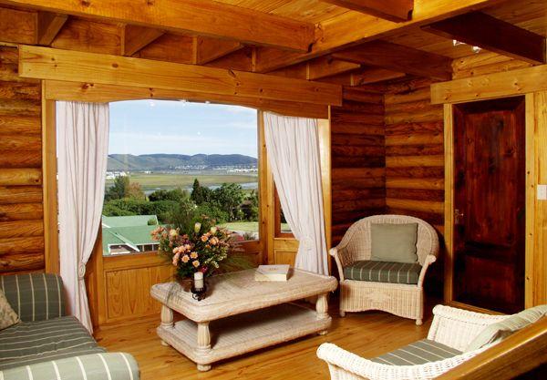 Abalone Lodges Knysna double story lodge lounge