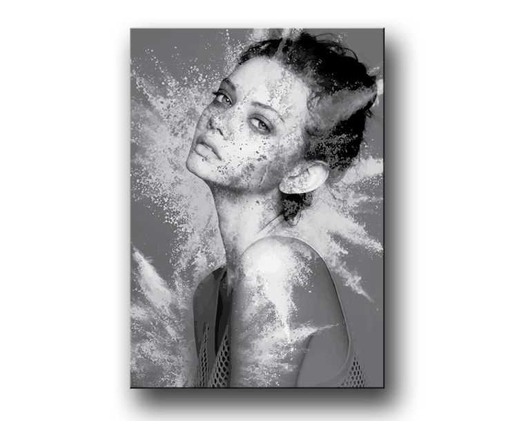 """Explosion"" Fashion Tavla / Posters & Prints"