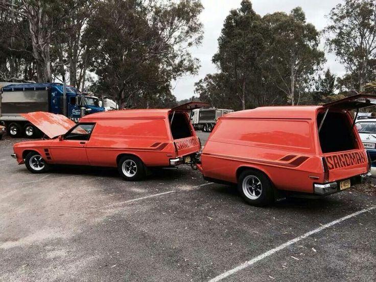 Holden sandman & sandman trailer