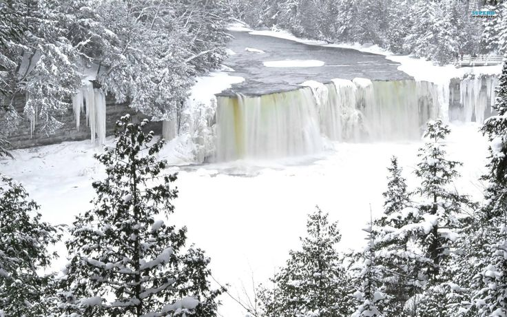 Tahquamenon Falls Michigan Winter Wallpaper 280 Best Pure Michigan Images On Pinterest Michigan