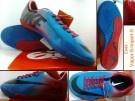 Sepatu Futsal Nike Mercurial Vapor 9 Biru Merah