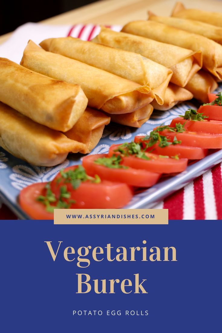 Learn How to make Vegetarian Burek with Assyrian Dishes!