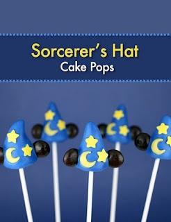 Sorcerer Mickey Cake Pops