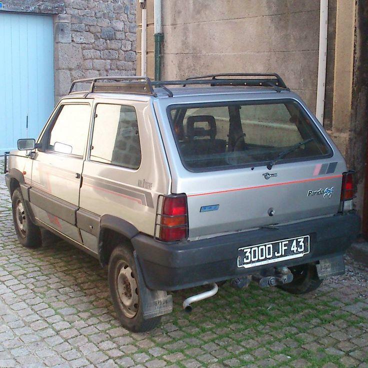 Fiat Panda 4x4 Val d'Isere #fiat