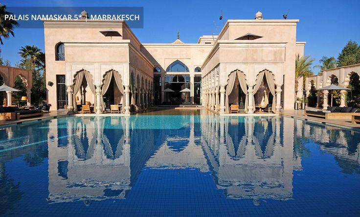 PALAIS NAMASKAR 5*   MARRAKESCH Schwimmen im orientalischen Palast