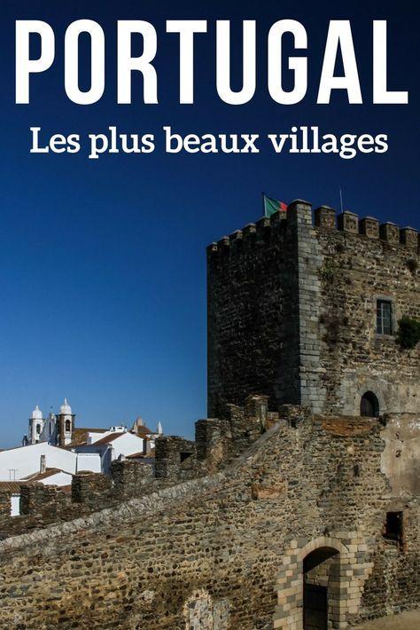 Découvrez les plus beaux villages du Portugal en photos: Monsanto, Obidos, Marvao... des maisons blanches, des murs de fortifications, des énormes rochers... de quoi allonger votre itinéraire !   Portugal voyage   Portugal Paysage   Que voir au Portugal