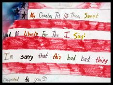 The September 11, 2001, Documentary Project captures the heartfelt reactions, eyewitness accounts, and diverse opinions of Americans and others in the months that followed the terrorist attacks on the World Trade Center, the Pentagon, and United Airlines Flight 93. Patriotism and unity mixed with sadness, anger, and insecurity are common themes expressed in this online presentation of almost 200 audio and video interviews, 45 graphic items, and 21 written narratives.