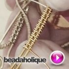 Tutorial - Videos: How to Wire Wrap a Basket Weave Figure-8 Design | Beadaholique