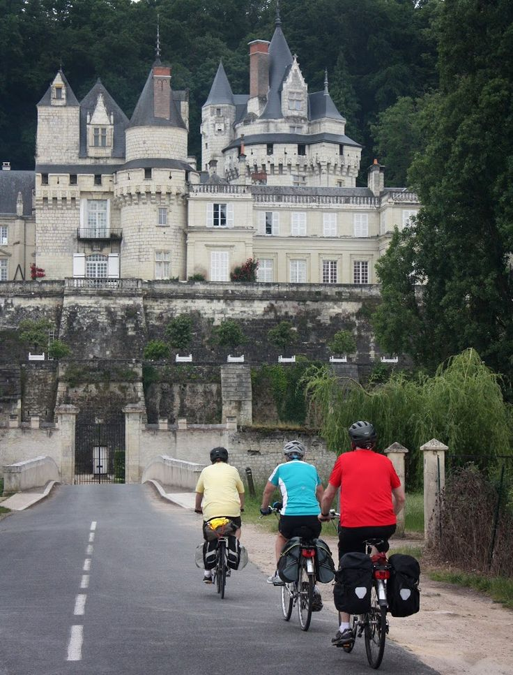 Loire Valley, France - The 500-mile route soon to extend via the Eurovelo route 1,500 miles to Budapest, is well-marked, much of it on dedicated bike paths and quiet back roads #Biking