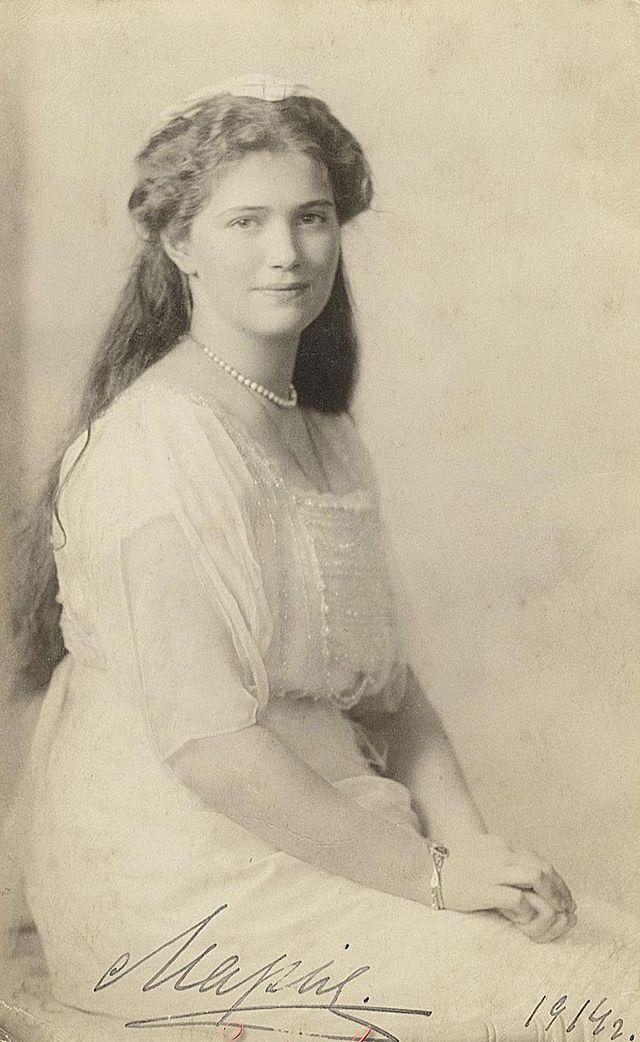 Grand Duchess Maria Nikolaevna was the third daughter of Tsar Nicholas II of…