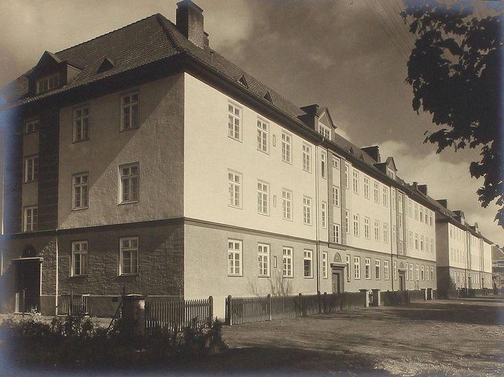 Кёнингсберг. Дома на Кранцерской Аллее (ул. А. Невского), ок. 1930 года