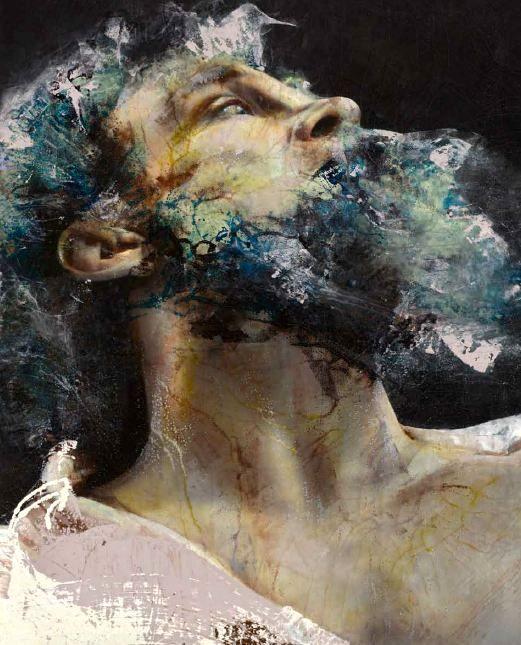 Lita Cabellut - Contemporary Artist - Figurative Portrait - Don Quixote 2012