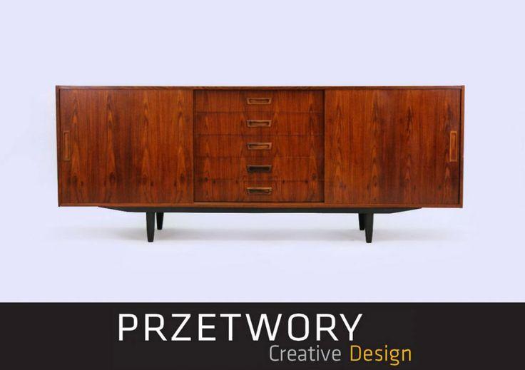 VINTAGE Sideboard LATA 60 70 MODERN Design DUŃSKI