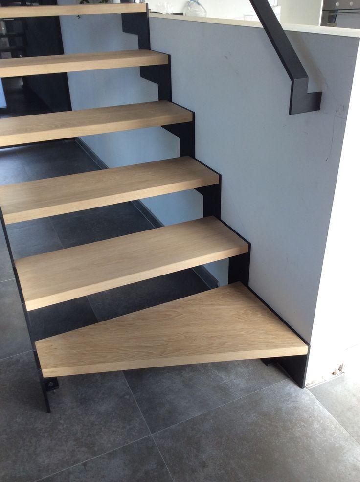 25 beste idee n over metalen trap op pinterest trap ontwerp trappen en trappenhuis ontwerp - Railing trap ontwerp ...