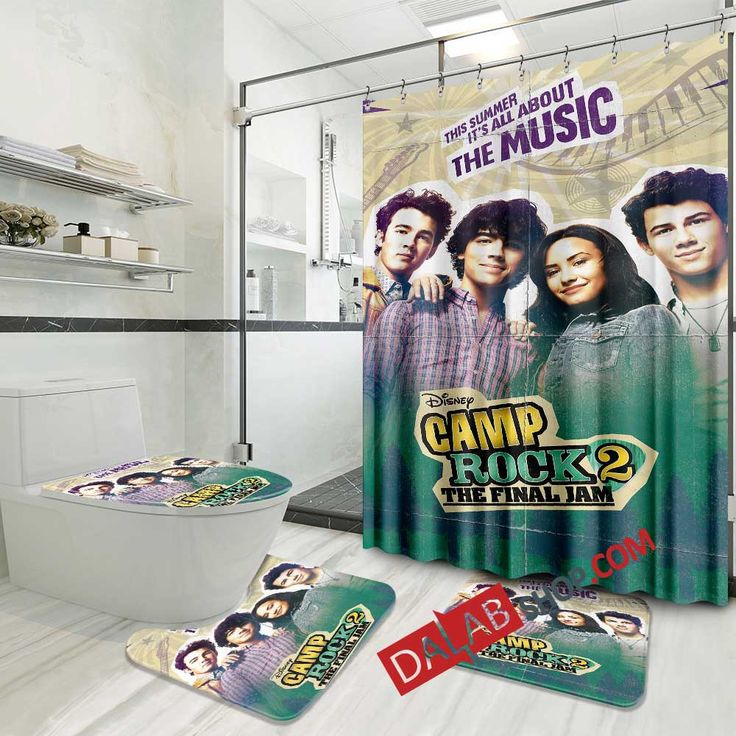 Disney Movies Camp Rock 2 The Final Jam 2010 D 3d Customized Personalized Bathroom Sets In 2021 Personalized Bathroom Camp Rock Disney Movies