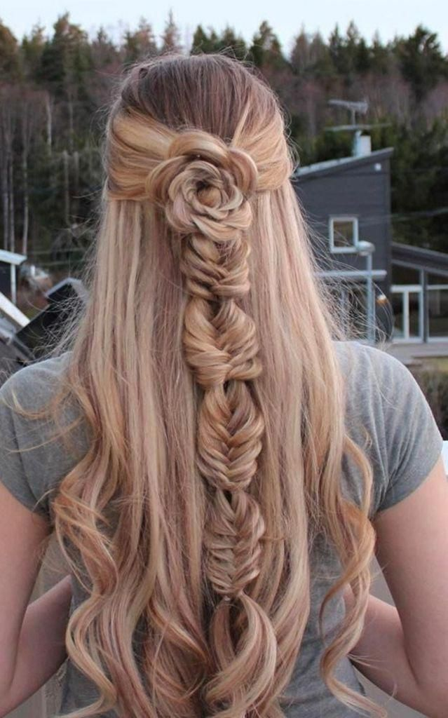 Phenomenal 10 Pretty And Unique Braided Rose Ideas You Must See Hair Is A Crown For Women Who Must Be Cared Fo In 2020 Hair Styles Braided Hairstyles Long Hair Styles