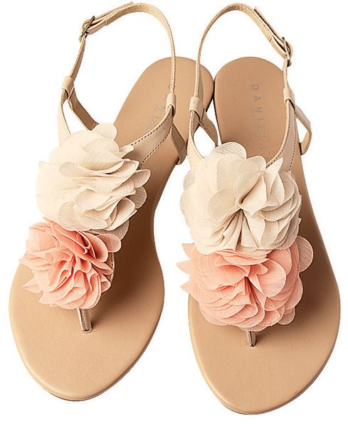 So cute.. and cheap!!!  Draw attention to your spring pedicure with these pretty sandals. (R289, Zoom.) $38