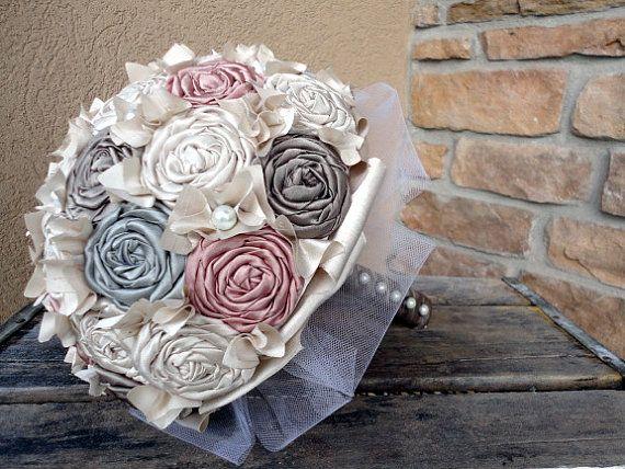 love this fabric boquet