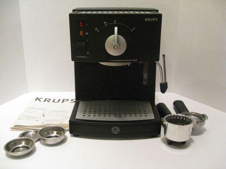 krups novo 3000 espresso machine