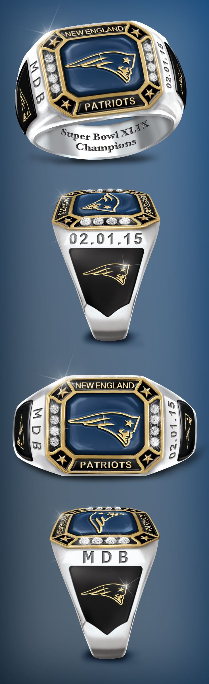 Congratulations to this year's Super Bowl Champions! Edition limit of 5,000!