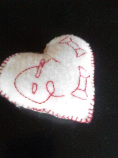 Stitchery hartje