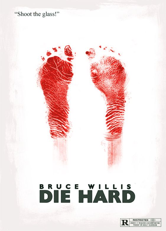 Die Hard One Sheet 2 by riddsorensen.deviantart.com