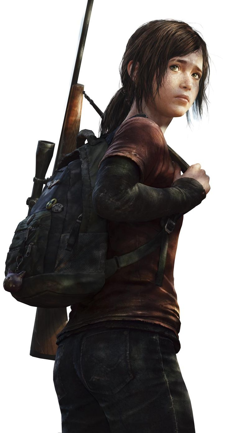 Ellie - in the game she acts more like an adult then a 14 year old in one scene she flipped one of the strongest guy in the army off! She my favorite character, and she is almost my age too.