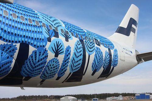 marr-tb:  Finnair A330 Marimekko by businesstraveller...